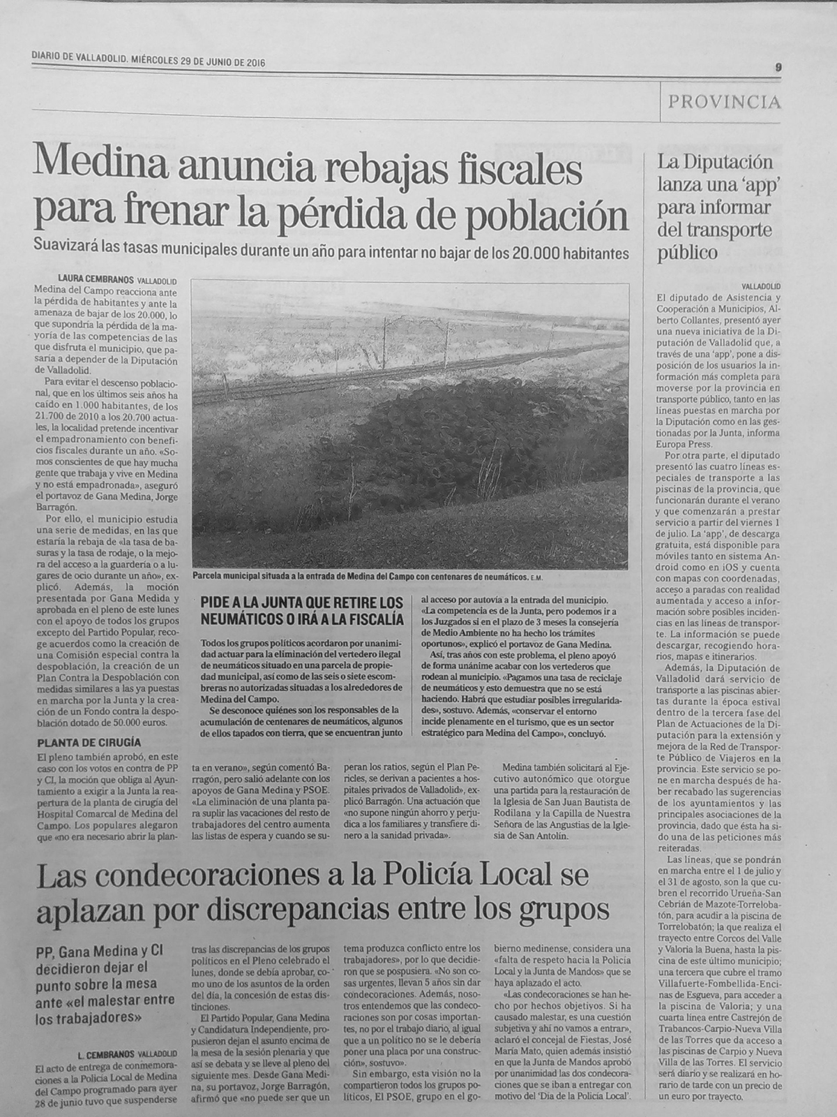 016 Prensa  29 junio
